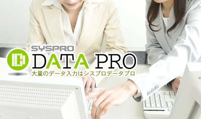 月間150件の問合せを獲得したデータ入力代行サービス「シスプロデータプロ」